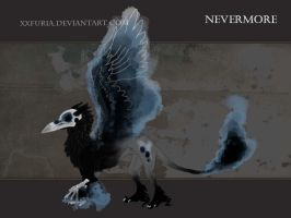 Nevermore (MUCH OLD reference) by xxFuria