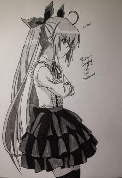 Kotori: Date A Live by Miniomegaxis