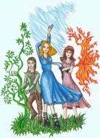 Peculiar Girls! ~ Fiona, Emma and Olive ~ MPHfPC by FeanorFeuergeist