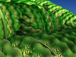 Mandelbulb Fields (MB3D Challenge #3) by Daeurth