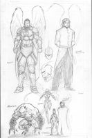 Divinity sketches by c-crain