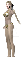 # Model Re5 Jill [Bikini] - Color -Gold- by Athenly
