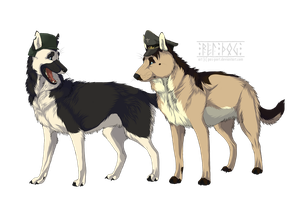 Fritz and Adolf by Wandering-Rei