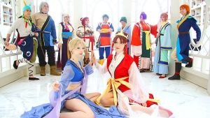 Fushigi Yuugi - The Two Priestess' by EveilleCosplay