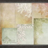 Ethreal Papers Set 5 and 6 by DaydreamersDesigns