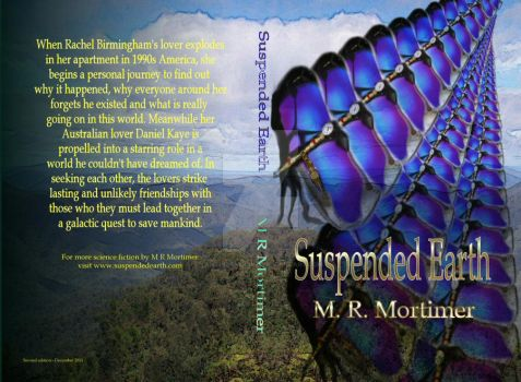 Suspended Earth 2nd edition paperback cover by AnthiasMcLony