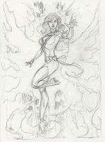 Phoenix step 1-pencils by MichaelDooney