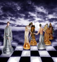 Chess war -Move one by Fawania
