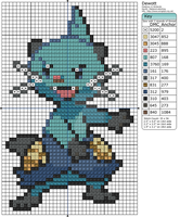 Pokemon - Dewott by Makibird-Stitching