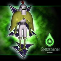 Shurimon 3d by me by EAA123