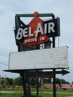 Bel-Air Drive In Theater by RonTheTurtleman