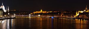 Budapest panorama by photogrifos