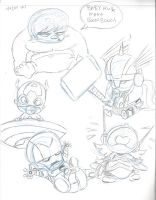 Baby Avengers by DarylT