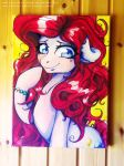 Canvas Water Color: A charming smile [2] by Wilvarin-Liadon