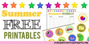 Summer Free Printables for Kids by blessedliez