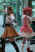 Mami and Madoka by Aether-Shadow
