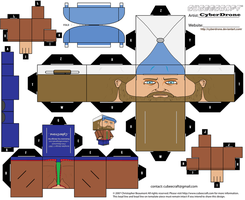 Cubee - Bobby Singer by CyberDrone