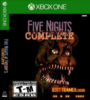 Five Nights at Freddy's: COMPLETE (Xbox One cover) by MechaAshura20