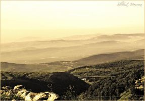 Morning view in sepia by ShlomitMessica