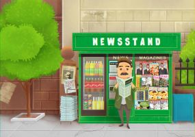 Newstand by boOnsai