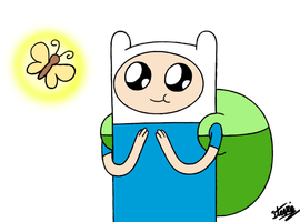 Finn the Human by vigilantefreak