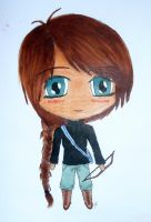 Chibi Katniss by anipo1