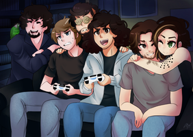 [Game Grumps] Game On! by Demonstarr13
