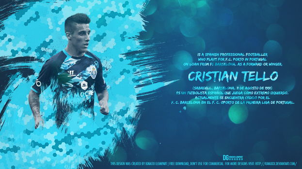 Cristian Tello by ignaxxx