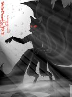 Dark Kitsune Show off the magic by HalloDream