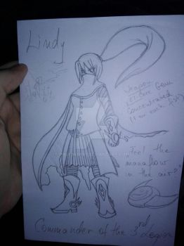 Elsword OC - New Lindy WIP by phoenixn91