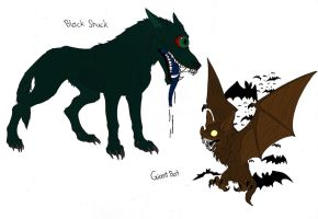 Eldritch Creatures 101 Part 5 by demongirl99