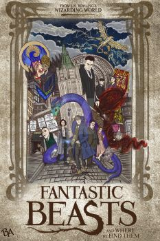 Fantastic Beasts and Where to Find Them by BrunoArauto09