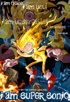 I am Super Sonic with Nigel K by kintobor