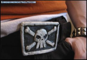 Borderlands 2 - Salvador's Belt Buckle - worn by CopperCentipede