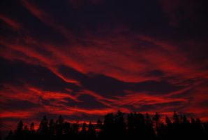 Just a bloody Sunset by ingensteds