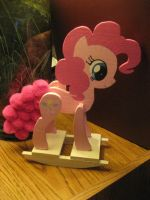 Pinkie Pie Rocking Horse (2) by FoxyPony