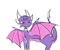 First attempt at Cynder by invaderkiwi