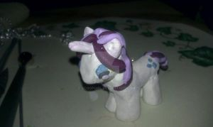 Rarity made with Clay by ScoopGirl