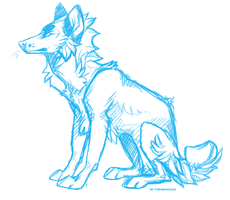 Emmdoodle wip for ref by Technicolorized
