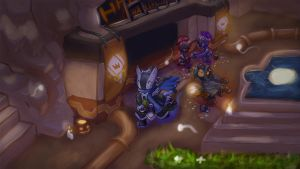 Spiralknights - Halloween Auctionhouse by Klears
