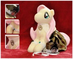 MLP - Steampony Fluttershy - Details by mihoyonagi