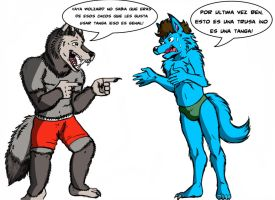 Trusa vs Boxer by paladin095
