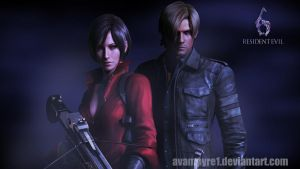 Ada_Leon_Wall_RE 6 by KaliKid1619