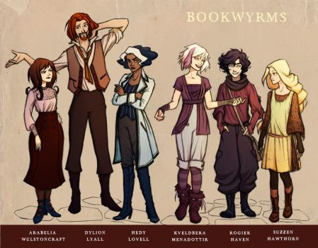 Bookwyrms Cast Part 1 by Simbelmina