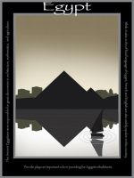 Egypt Travel Poster by niirasri