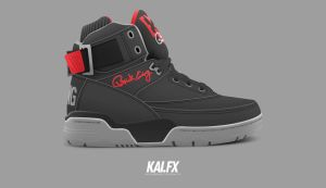 Ewing 33 Hi 'Black Cement' by BBoyKai91