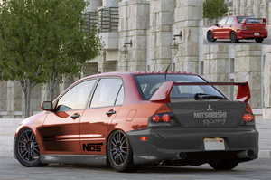 Lancer EVO IX Tuned by MikeGTS by MikeGTS