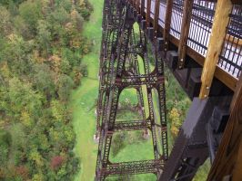 Kinzua State Bridge 9 by buffaloquinn
