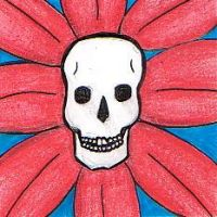 Skull Flower by GreenHeethar