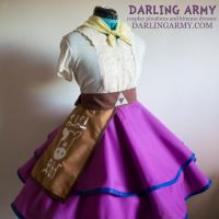 Malon Lon Lon Ranch Legend of Zelda Cosplay Skirt by DarlingArmy
